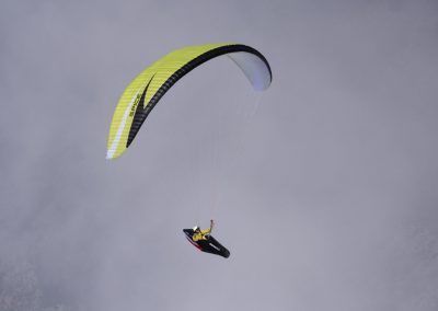 skywalk SPICE paraglider lime green lightweight