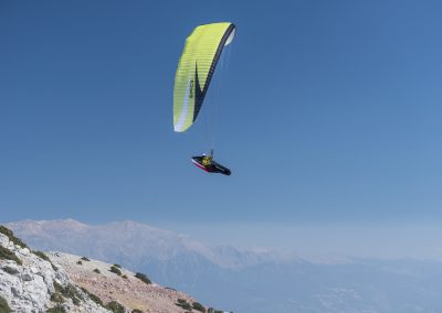 skywalk SPICE paraglider lime grün lightweight