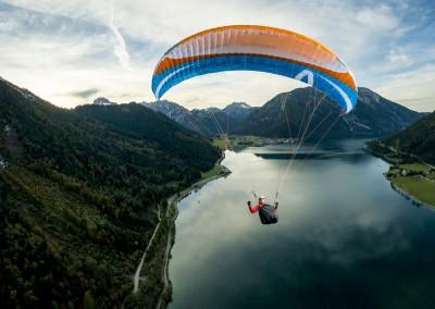 skywalk TEQUILA4 blau orange paraglider