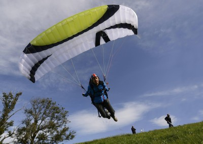 skywalk TONIC paraglider green miniwing