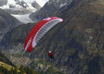 skywalk TONIC paraglider red miniwing