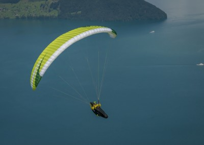 skywalk ARRIBA3 green paraglider lightweight
