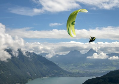 skywalk ARRIBA3 blue paraglider lightweight
