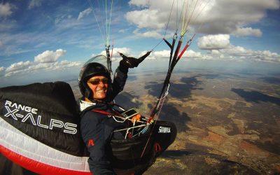 Burkhard Martens flies 411 km on CHILI4!